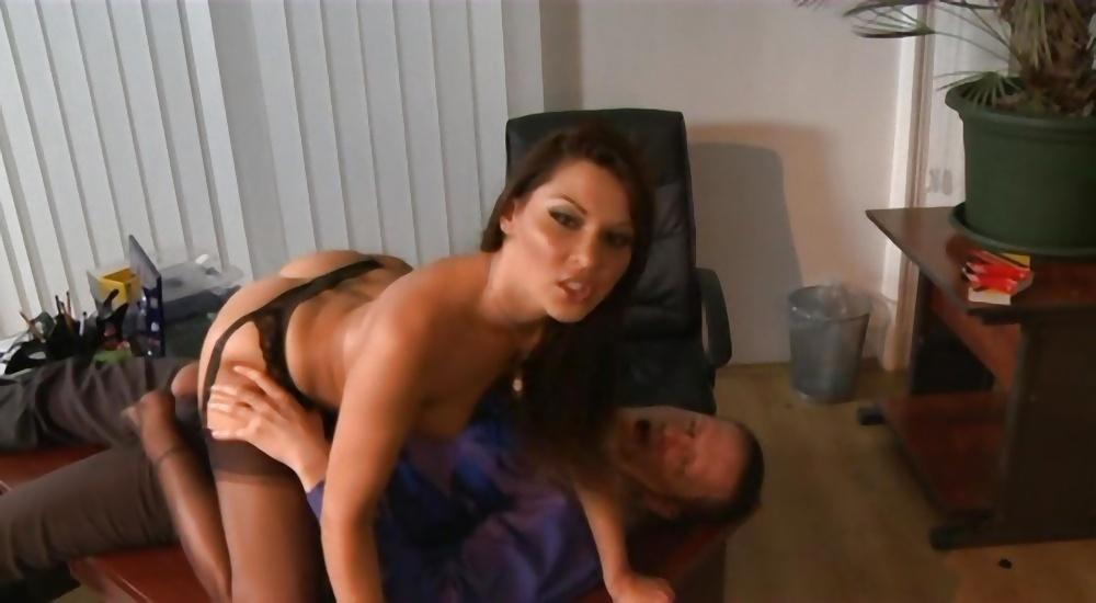 Stockings secretary sex