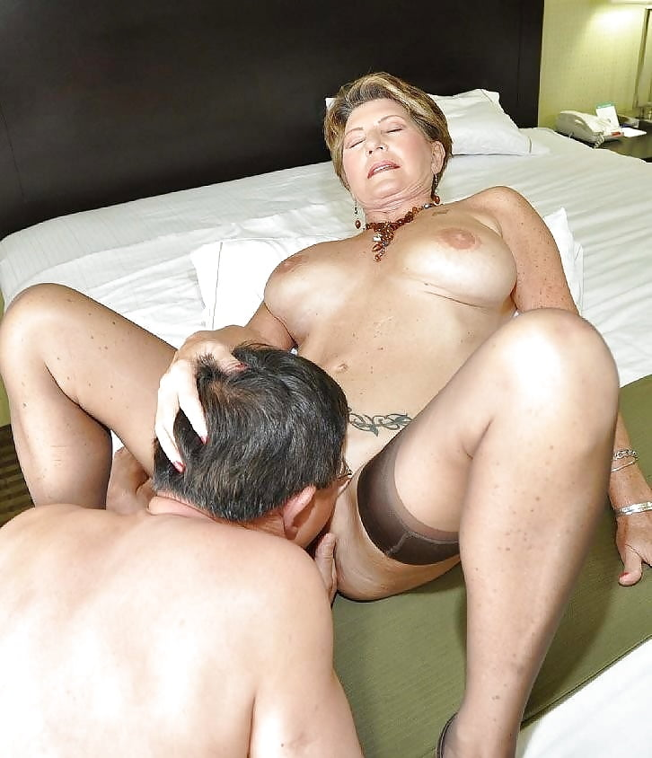 I let my married neighbor eat my pussy in his garage he'd been begging
