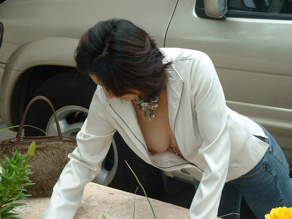 Out ass blouse down voyeur bondage nude erotic
