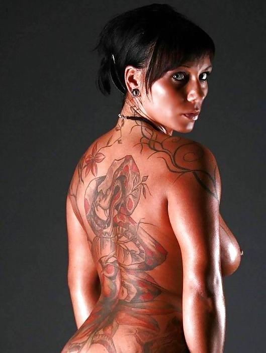Tattooed mature women, mature nude photos