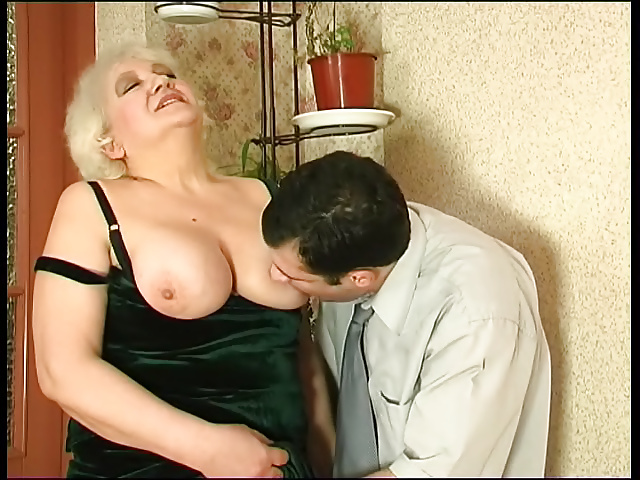 Wife catches her man fucking her mom-8336