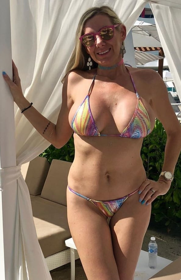 Wife bikini free pics, pair of boobs costume