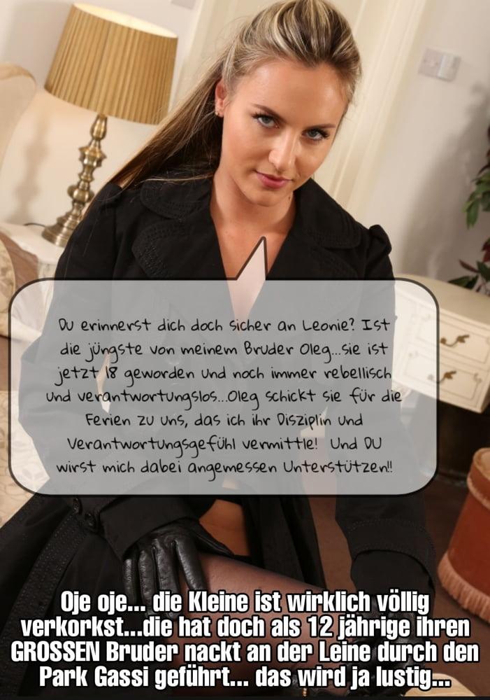 Stories deutsch femdom Granny Dump