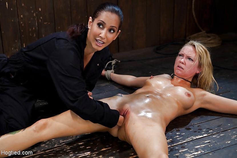 Rough lesbian slave punishment