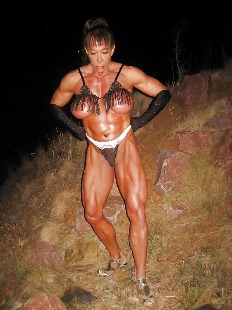 Naked muscle ladies