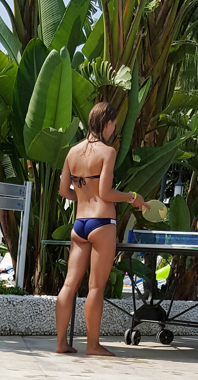 Bikini tight ass