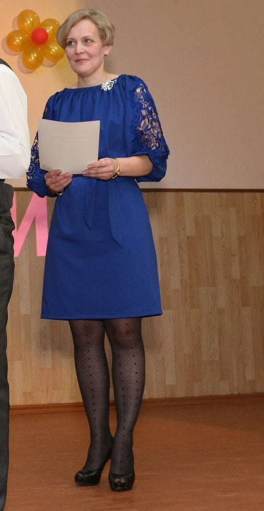 Pantyhosed Teachers - Pick One and Fuck It - 25 Pics