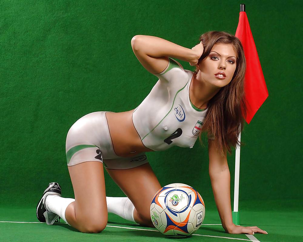 Fifa Body Paint Girls