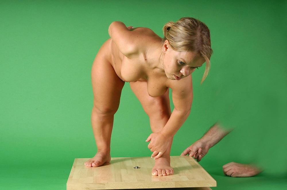 Midget nude model