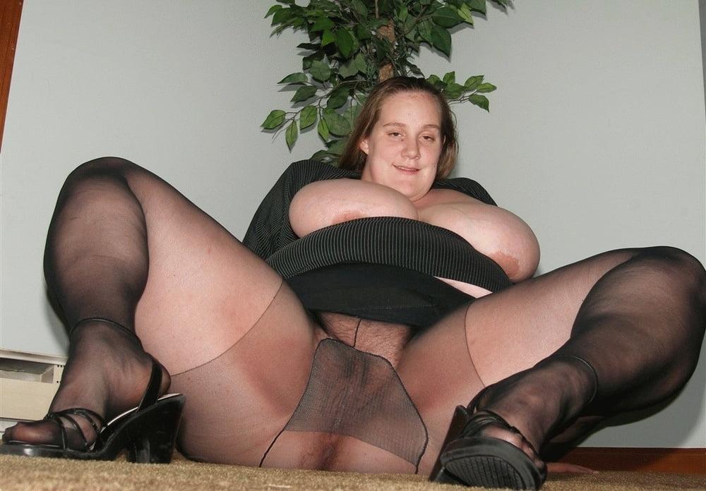 Толстые женщины в колготках видео порно