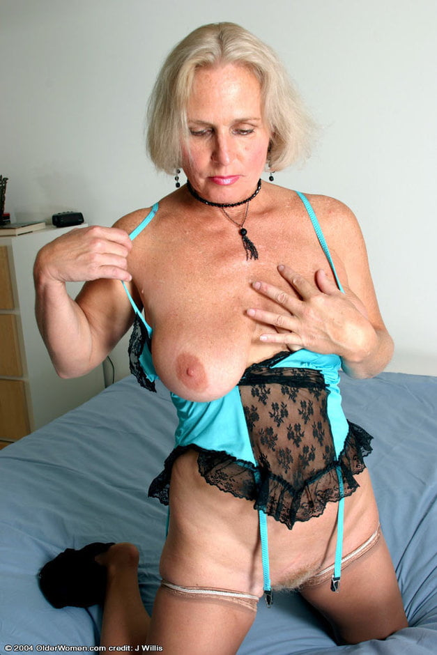 Grey haired pussy torrie and lotion