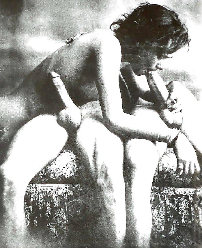 Vintage Black And White Porn