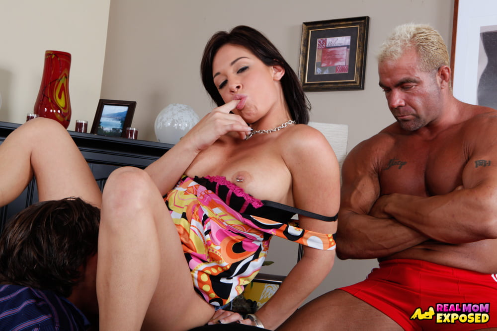 Muscular Cuckold Watching His Wife Tory Lane Get Her Pussy - 10 Pics