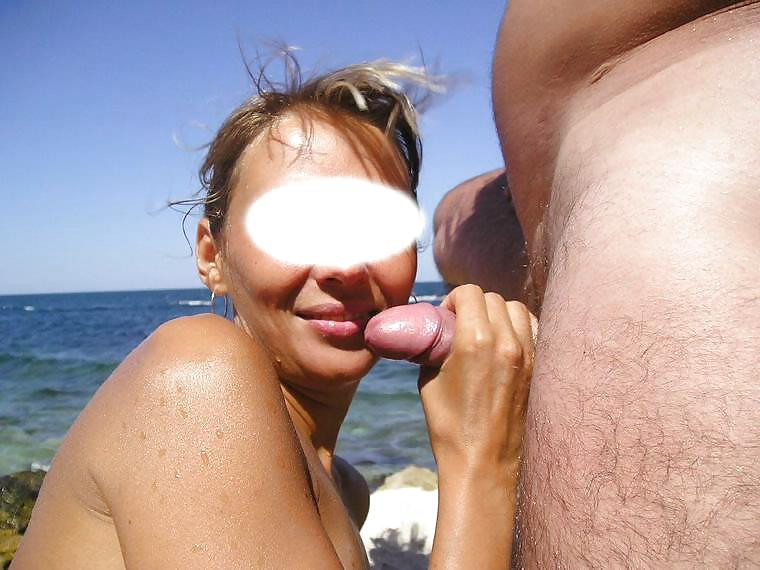Nudist friends blowjob