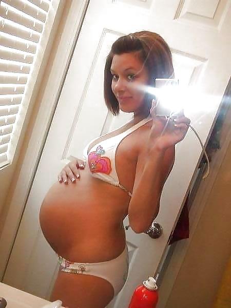 self-shots-nide-pregnant