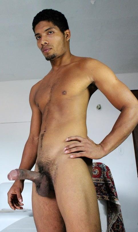 Latin man nude video