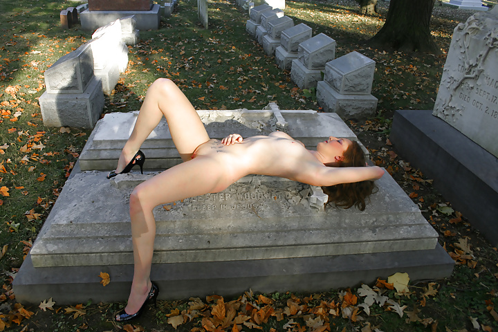 naked girls in graveyards