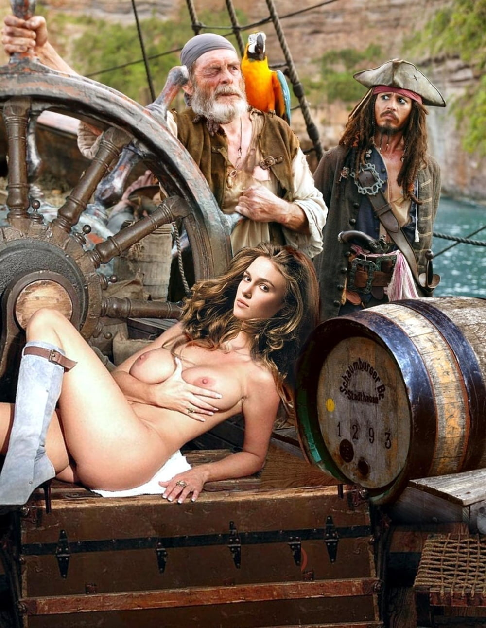 Sexy Female Pirates Naked
