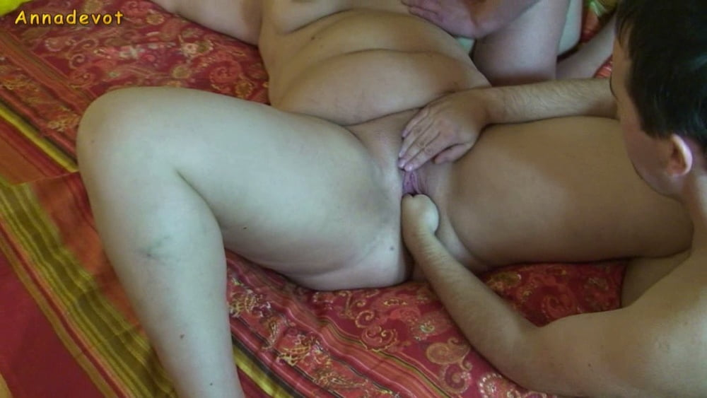 Fist for cunt - cock for blowjob mouth