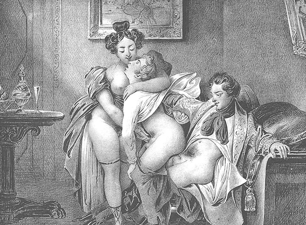 Порно под старину веков #7