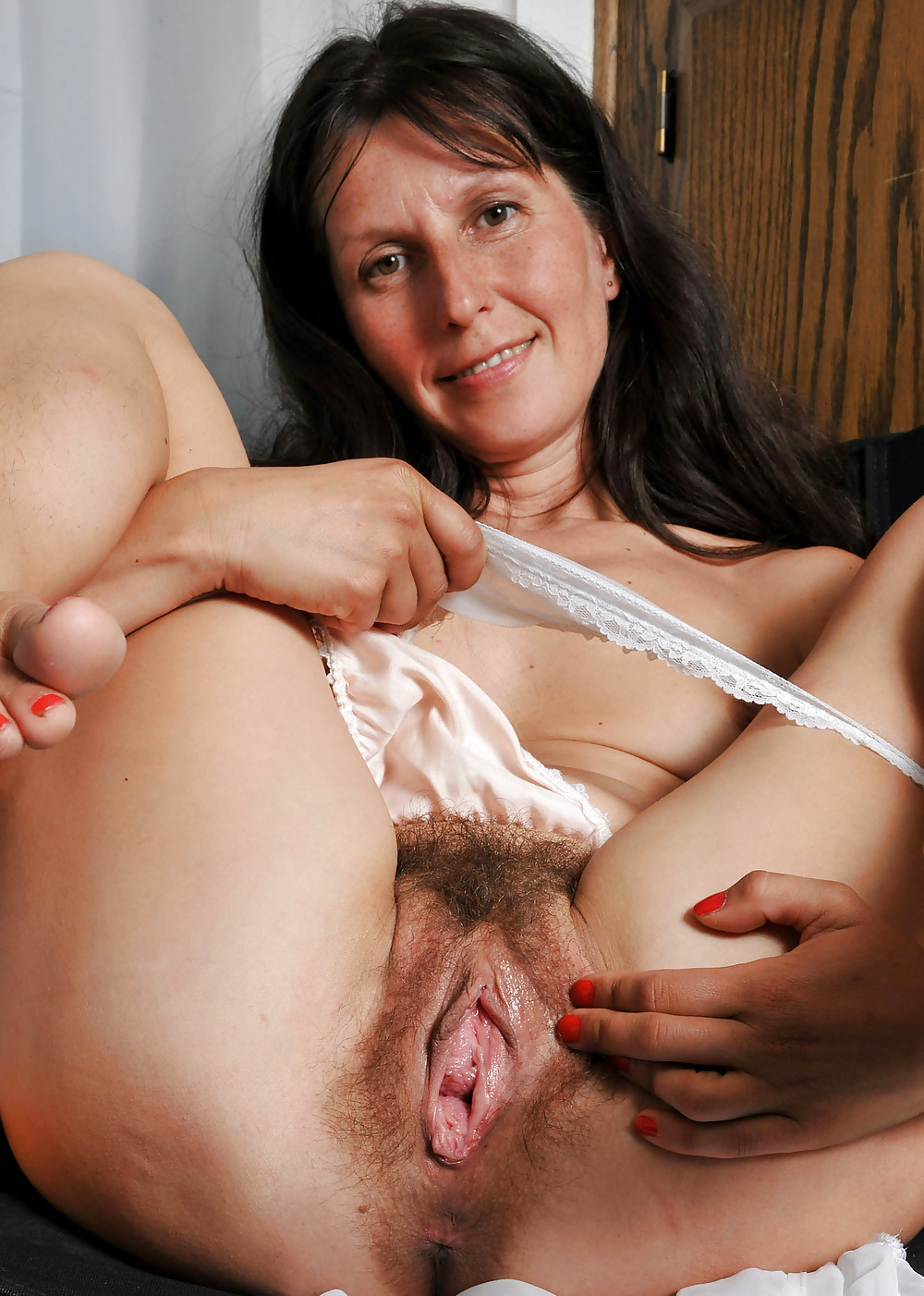 Mommy with hairy pussy
