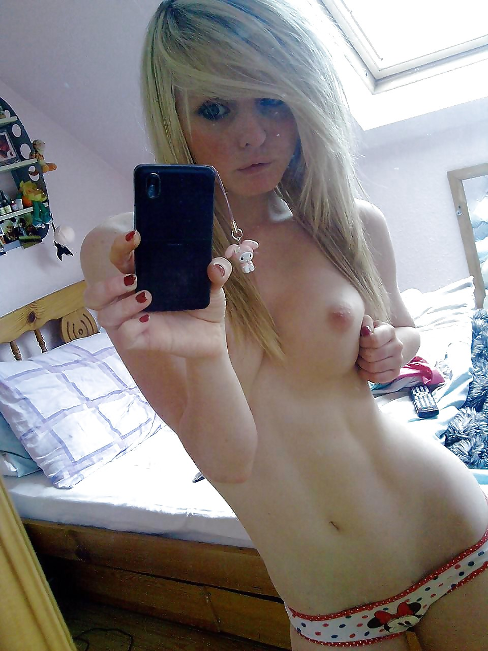 Sexy teen with huge fucking tits
