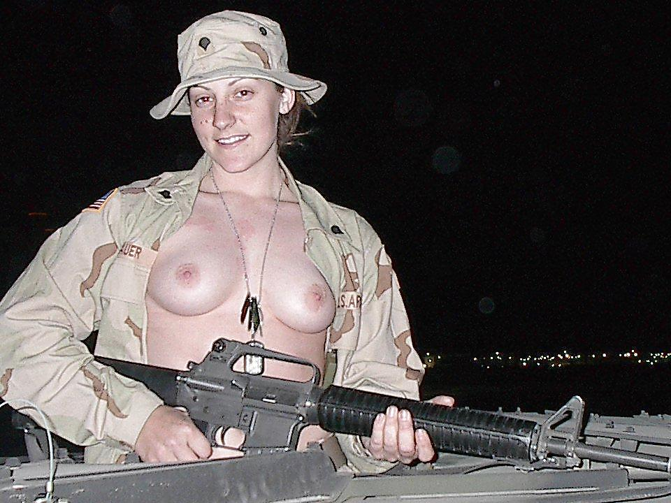 Black naked army women