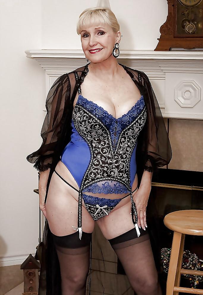 Older lingerie models are still a rarity lingerie talk