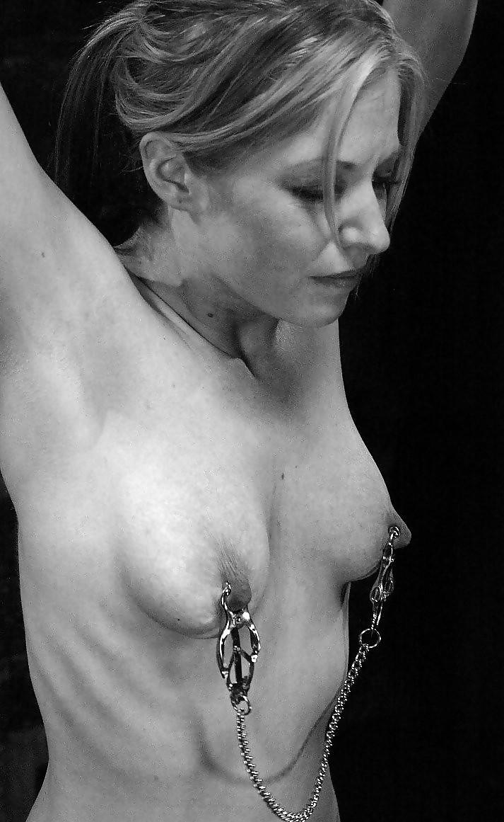 Nipple Bondage In Public