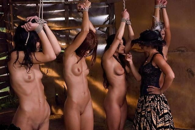 White slave girls auction