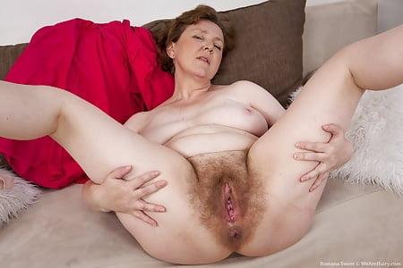 hairy mature