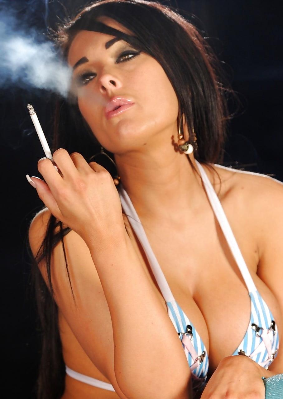 Smoking hot girl stock photos and images