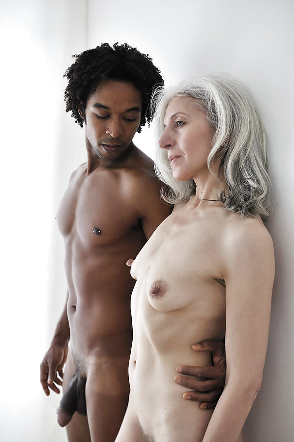 Gray haired women nude