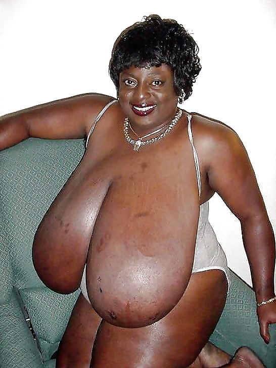 Pictures of big black breasts