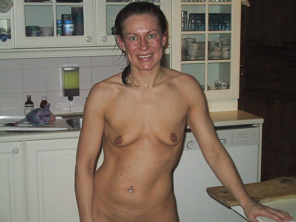 Granny small tits mature