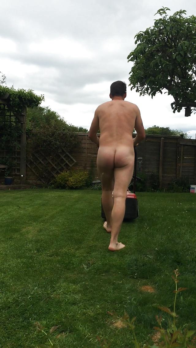Bikini Mowing Lawn Nude Pictures