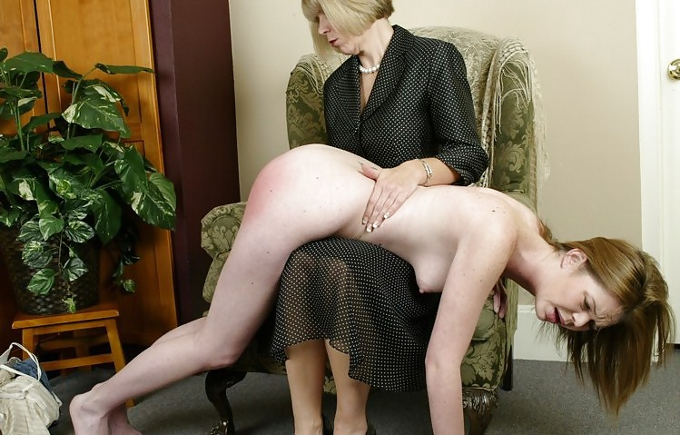 Strip for spanking