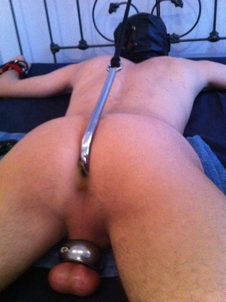 Nude twink butt plug 10
