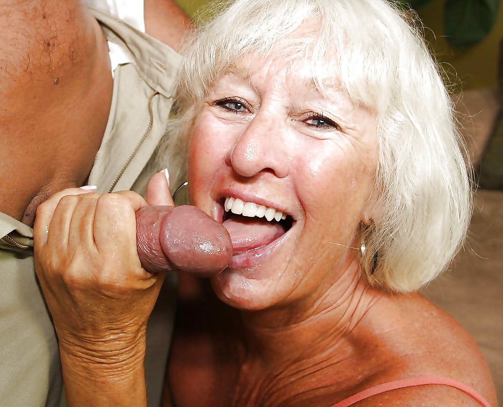 Hot Grannies Sucking Cock