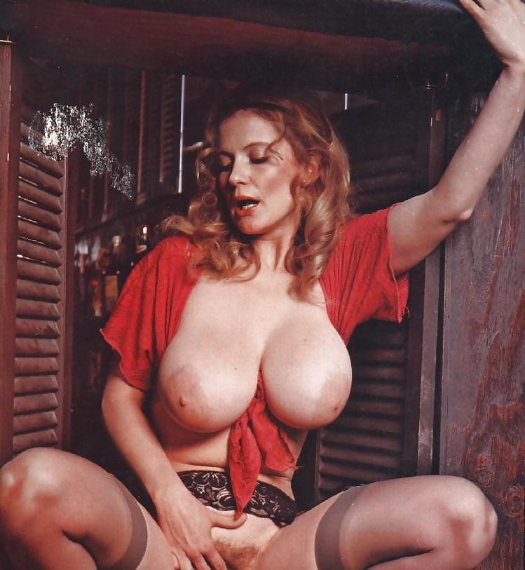 Large retro boobs