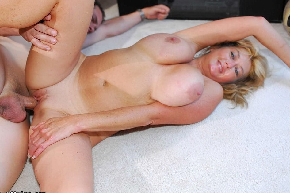 Sexy busty blonde milf fucked hard in her ass and fisting