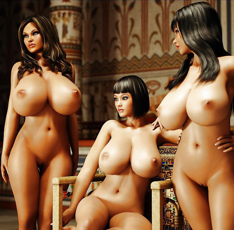 картинки женщин амазонок с большими сиськами - 11