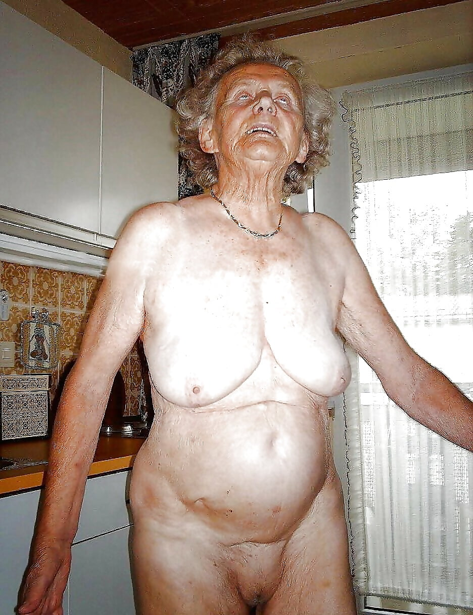 Naked old ladies private pics