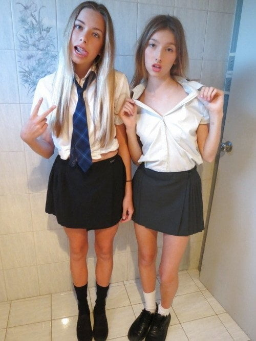 Hot high school girl self — img 9