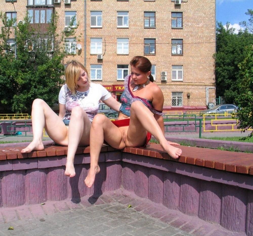 говорить, девушка мастурбирует в общественных местах эротические фото красивой