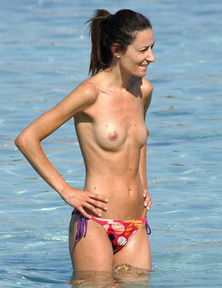 Topless women in skirts-9244