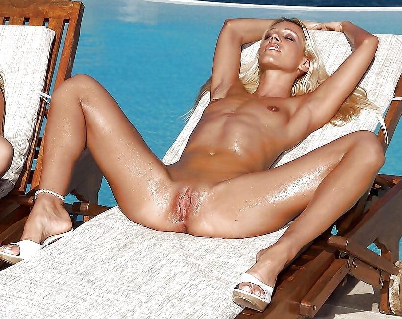 Taking panties off in public