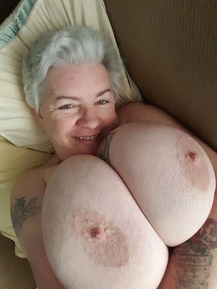Porn big tit granny Granny Big