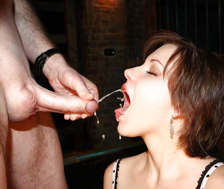 Kinky cum eater
