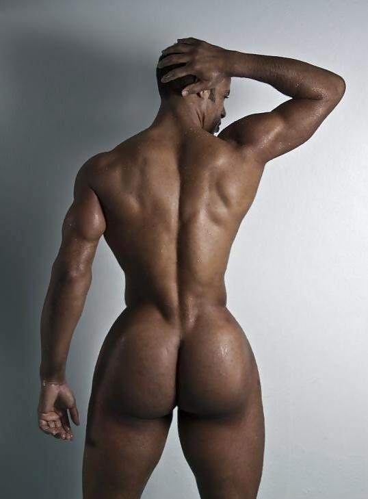 Naked black men asses